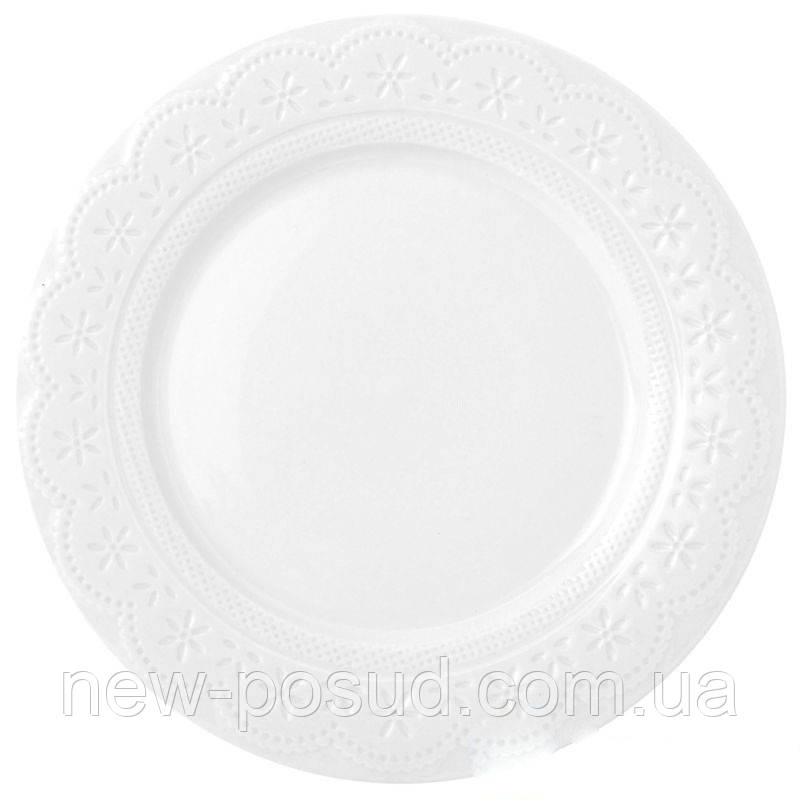 Тарелка десертная Krauff Lacy 21 см 21-252-001