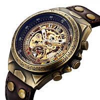 Мужские механические часы Winner Status New с автоподзаводом