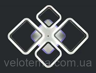 Светодиодная люстра потолочная с ДУ 1127/2+2