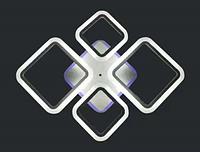 Светодиодная люстра потолочная с ДУ 1127/2+2, фото 1