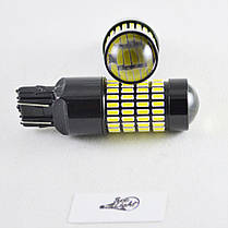 Автомобильная лампа SLP LED 102-4014 SMD в задний ход с цоколем 7443(7440)(W21W)(W21/5W)  Белый, фото 2