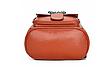 Рюкзак женский кожзам с брошкой Бордовый, фото 4