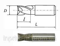 Фреза шпоночная с цилиндрическим хвостовиком D 4