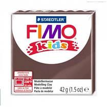 Пластика FIMO kids шоколад 42г (1)