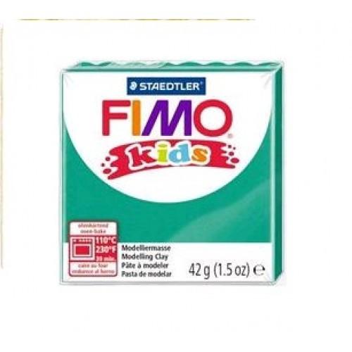 Пластика FIMO kids зеленая 42г (1)