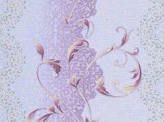 Обои на стену, светлые, сереневый,  акриловые, B76,4 Кипр 6425-07, 0,53*10м, ограниченное количество
