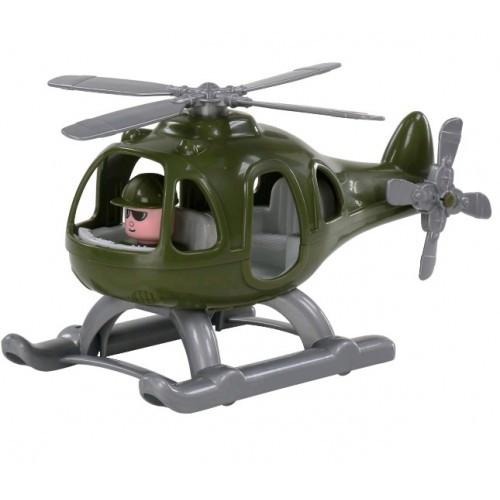 Вертолет военный Гром (в сеточке) 30 * 22 * ??15см ТМ POLESIE