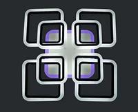 Светодиодная люстра потолочная 1127/4+4