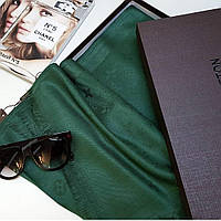 Палантин Louis Vuitton зеленый (травяной), фото 1