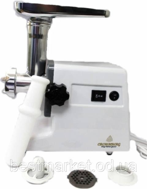 Электрическая Мясорубка c Реверсом Crownberg CB-3074