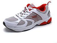 Кроссовки Voit унисекс, летние, комбинированные, белые/ серые, фото 1