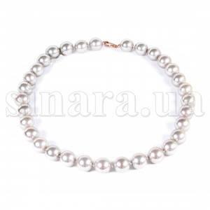 Ожерелье из серого жемчуга Майорка 9041