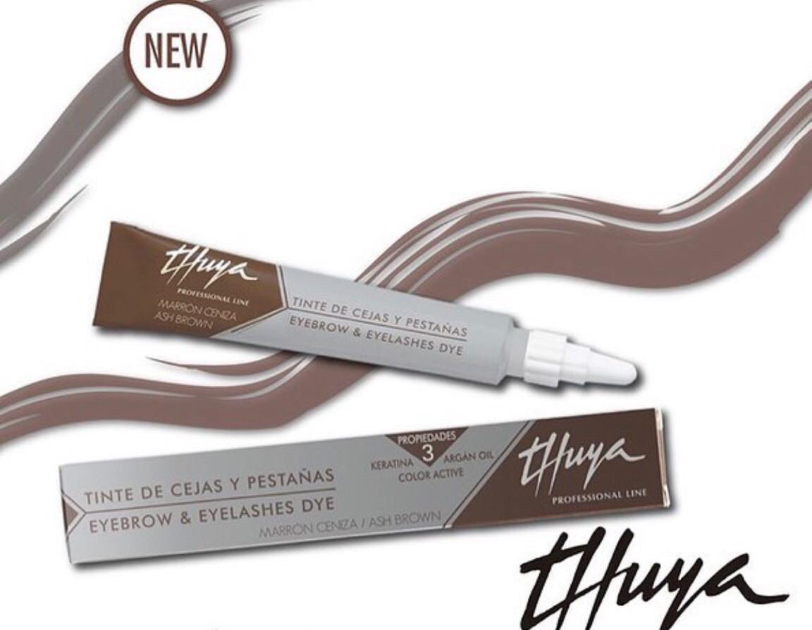 "Краска для бровей  и ресниц ""Thuya"", молочный шоколад"