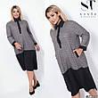 Платье женское стильное размеры: 50-56, фото 6