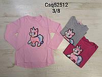 Регланы для девочек  оптом, размеры 3-8 лет,  Seagull  арт.  CSQ-52512, фото 1