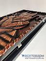 Нарды ручной работы ЕГИПЕТ-2 (60х60 см.) + чехол, фото 4
