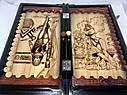 Нарды ручной работы ЕГИПЕТ-2 (60х60 см.) + чехол, фото 5
