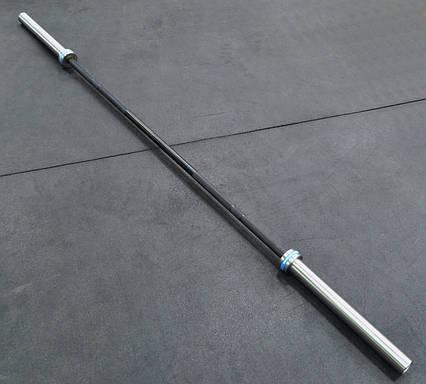 Гриф олимпийский для кроссфита, тяжелой атлетики 220 см, 650 кг, 6 подшипников, 28 мм (CrossFit), фото 2