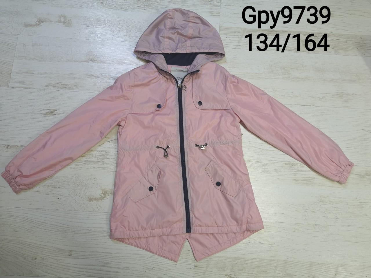 Куртки для девочек на флисе оптом, Glo-Story, размеры 134-164р, арт. GPY-9739