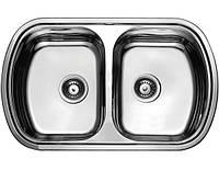 Мойка врезная в столешницу на кухню ULA (HB7702ZS) 800*490 polish
