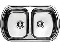 Врезная кухонная мойка ULA (HB7702ZS) 800*490 satin