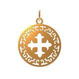 Медальон серебряный с Крестом, фото 2