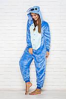 Пижама кигуруми Funny Mood Стич S Голубой S ( 148-159 см )