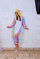 Пижама кигуруми Funny Mood Единорог Радужный M