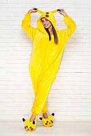 Пижама кигуруми Funny Mood Пикачу S Желтый XL ( 180-190 см )