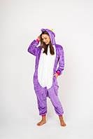 Пижама кигуруми Funny Mood Единорог S Фиолетовый