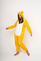 Пижама кигуруми Funny Mood Медведь XL Желтый S ( 148-159 см )