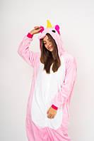 Пижама кигуруми Funny Mood Единорог L Розовый S ( 148-159 см )