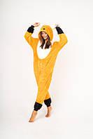 Пижама кигуруми Funny Mood Лиса M Оранжевый
