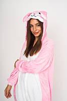 Пижама кигуруми Funny Mood Кролик M Розовый S ( 148-159 см )