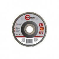 Круг BT-0215 Intertool К150 шлифовальный лепестковый торцевой 125 мм х 22,2 мм для угловой шлифмашины