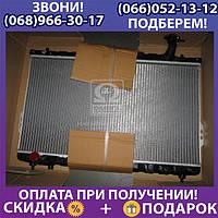Радиатор охлаждения двигателя Santa Fe 2.0 i * Man. 08/00- (AVA), (арт. HYA2109)