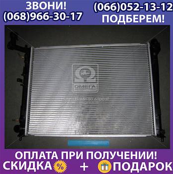 Радиатор охлаждения HYUNDAI, KIA (пр-во AVA) (арт. HYA2180)