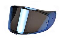 Визор (Стекло) для шлемов LS2 FF323 зеркальный (синий)