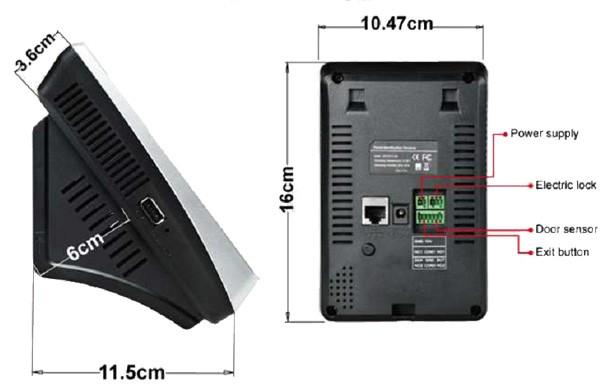Дизайн системы контроля доступа ZKTeco VF780