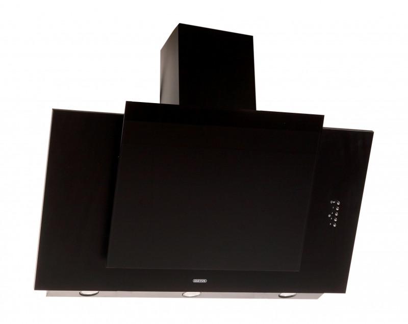 Кухонная вытяжка Eleyus Титан LED А 1200 / 90 (чёрная)