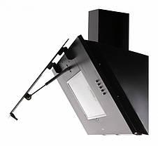 Кухонная вытяжка Eleyus Титан LED А 1200 / 90 (чёрная), фото 3
