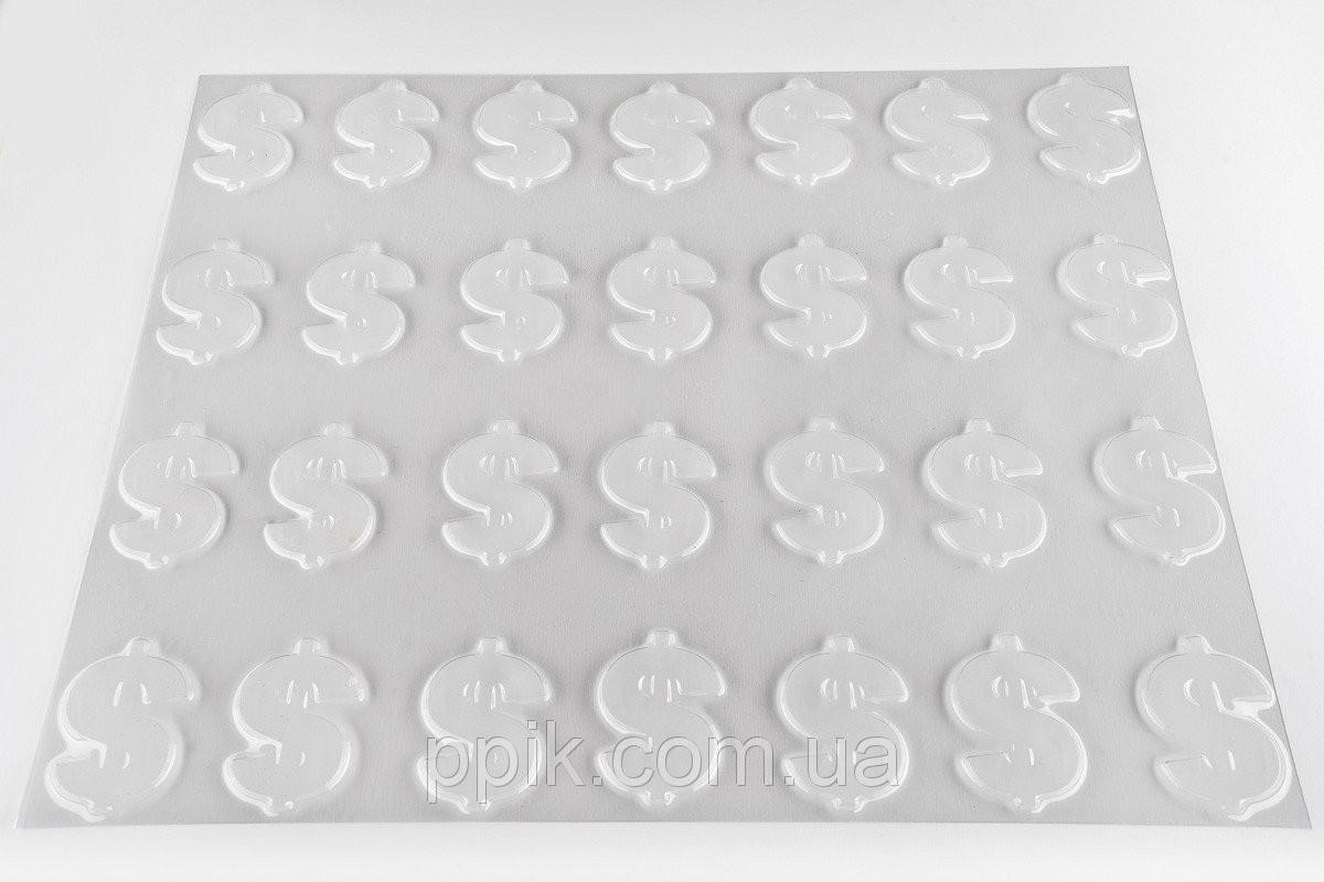 """Текстурный мат """"Доллар"""" 430мм*340мм"""