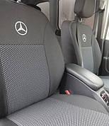 Чехлы на сиденья Авточехлы Mercedes Vito (1+1 2 3) (7 мест) 2003- Elegant мерседес вито 639