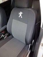 Чехлы на сиденья Peugeot 301 (sedan) задняя спинка раздельная 2016- 'Elegant'