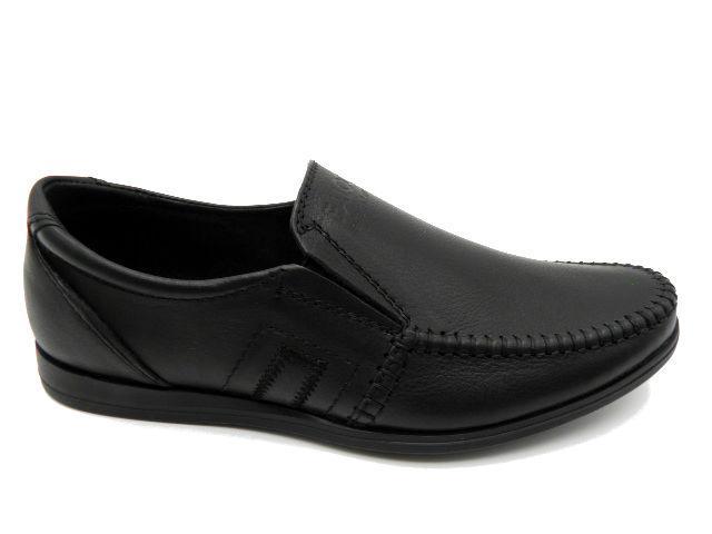 Туфли подросковые * Falcon 2615 черный *22859