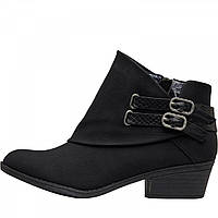Ботинки Blowfish Malibu Sistee Double Buckle Ankle Black Saddlerock/Snake Charmer Black - Оригинал