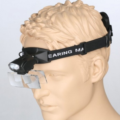 Бинокуляр Magnifier 9892C LED 1x - 6x