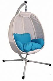 Підвісне крісло кокон з подушками Stenson MH-2745 125x95x170 см (до 180 кг)