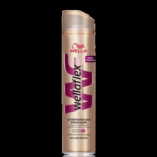 Wellaflex лак для волос Суперсильная фиксация (5) 250 мл