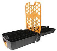 Кейс чемодан на 100машинок Хот Вилс  Hot Wheels 100-CarRolling Storage Case, фото 4